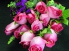 Full Dozen Rose Bouquet -pink